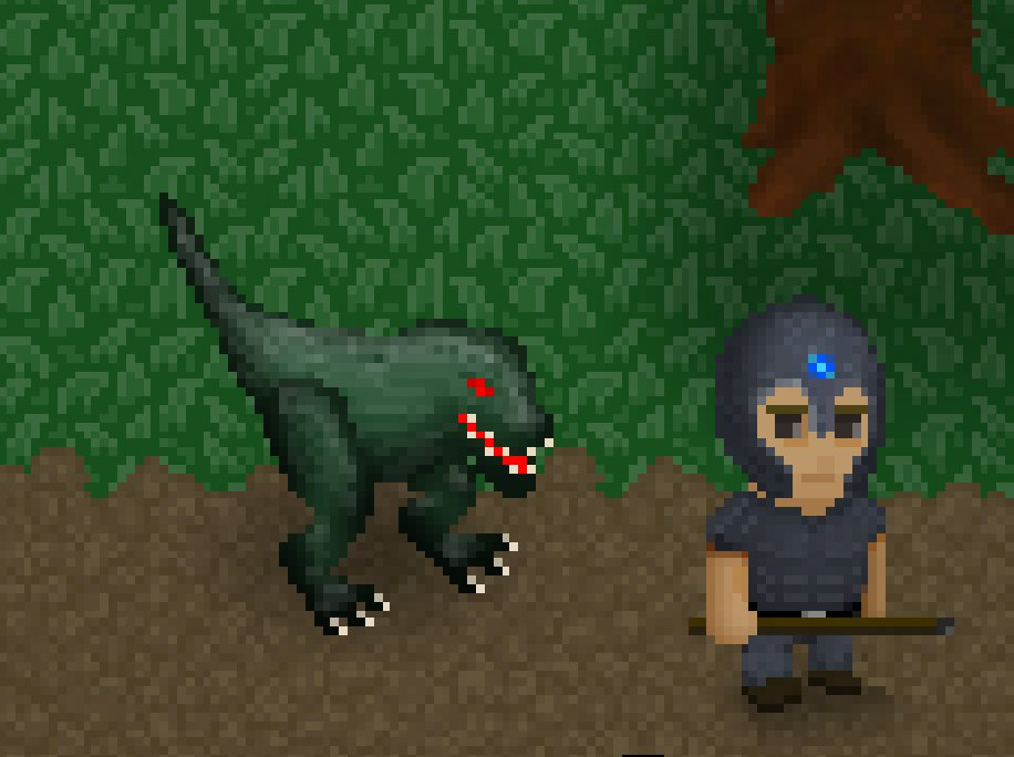 Watch out, behind you !!!  #gamedev #indiegame #pixelart #indiedev #sandbox #wip #mmorpg<br>http://pic.twitter.com/jPHHr5a35f