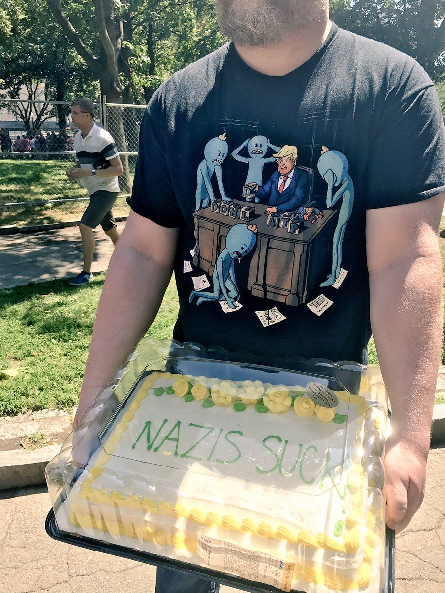 Just bring cake to the rally. #Boston