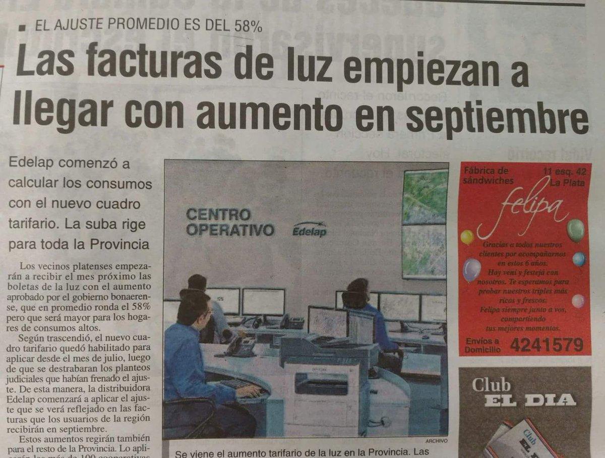 Nuevo tarifazo eléctrico del 58% de @mar...