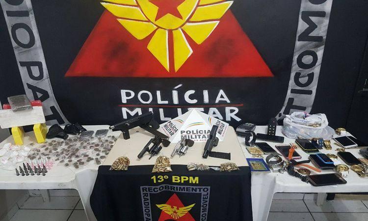 PM prende em BH quadrilha com cerca de R$ 200 mil em armas e drogas https://t.co/PQwVSMTOiR