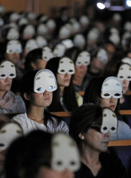 日本初の3D能「平家物語」上演、能面型メガネで臨場感 #3D能 https://t.co/Nkqj7lyp4a