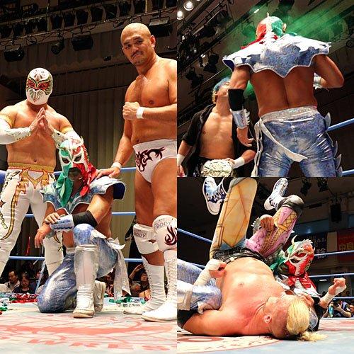 """AJPW/Toryumon: Resultados """"Lucha Fiesta 2017"""" 19/08/2017 Último Dragón celebró en Japón 30 años como luchador activo, el mensaje de Chris Jericho 9"""