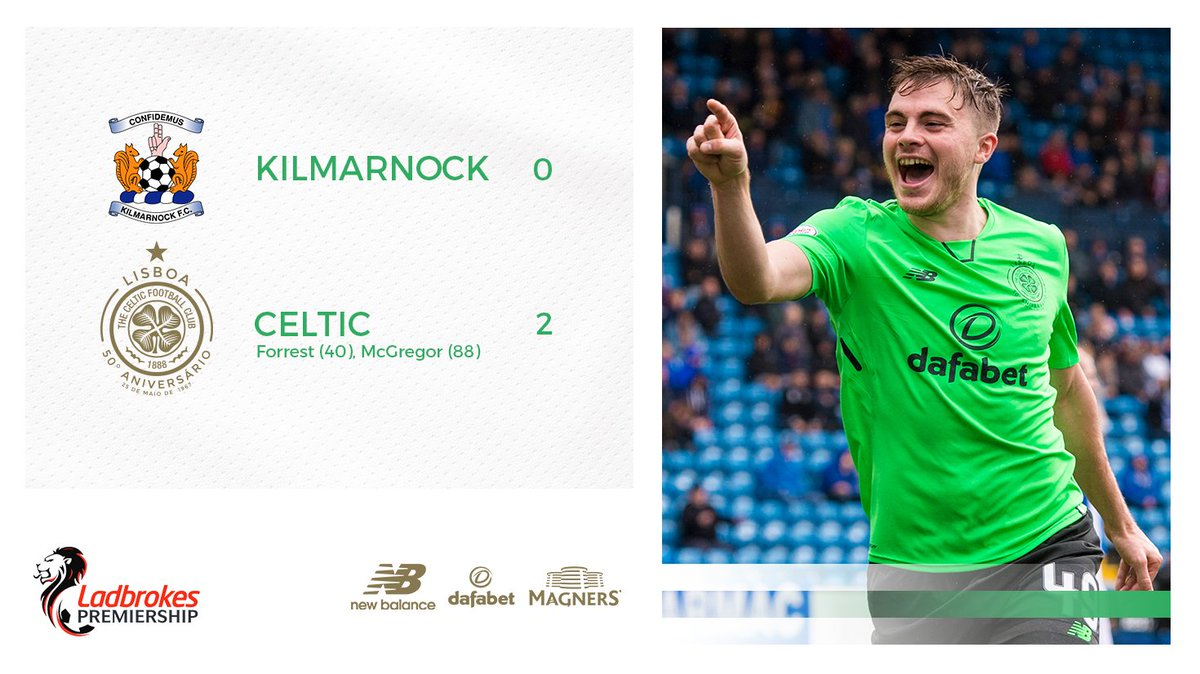 FULL-TIME: @OfficialKillie 0-2 #CelticFC  The Champions continue their...
