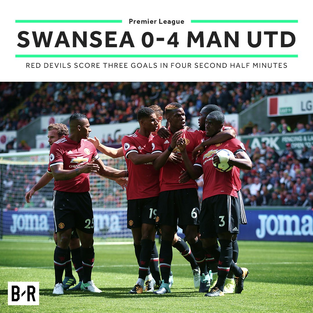 2 games 2 wins 8 goals 0 conceded  Manchester United 🔥🔥🔥