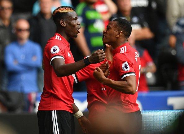 Pogba again Lukaku again Martial AGAIN  Swansea City 0-4 Manchester Un...