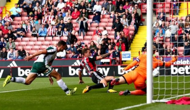 It was a fiery South Yorkshire derby.  A good day for Sheffield United...