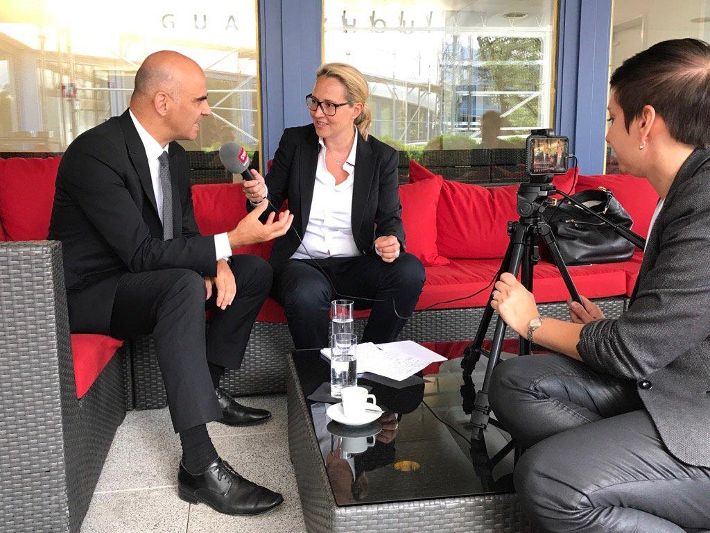 Swissinfo in Interview mit Alain Berset