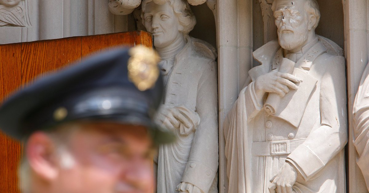 Duke University is removing the Robert E. Lee statue from its chapel h...
