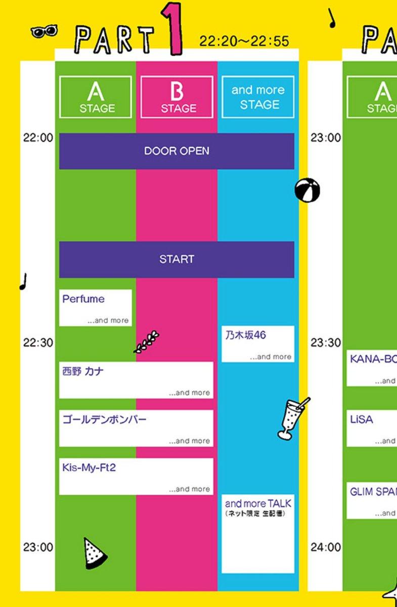 NHKシブヤノオト and more FES. 始まりましたー!! 皆さんテレビの前で、是非フェス気分になってお楽しみ下さいませ♪ タイムテ...
