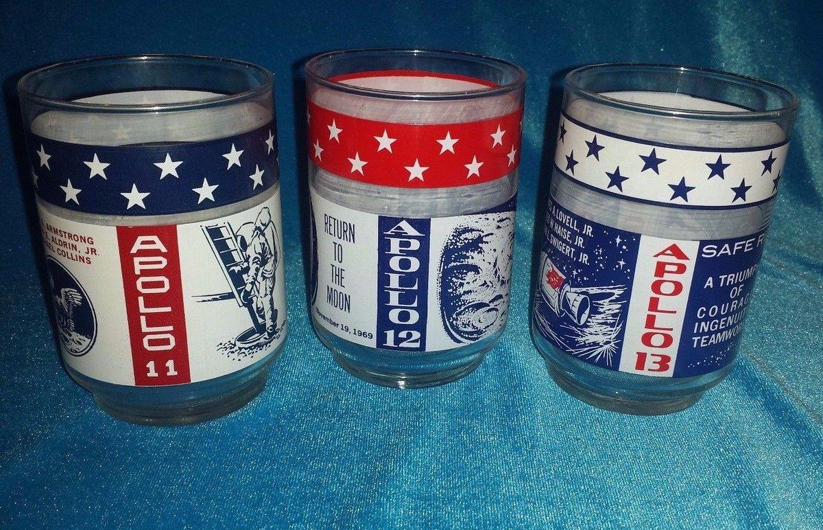 On #NationalAviationDay See Apollo 11 12 13 Libbey Tumblers #ManontheMoon #MidCentury Setof 4 #NASA   http://www. ebay.com/itm/Apollo-11- 12-13-Libbey-Tumblers-Set-4-Man-on-the-Moon-Safe-Return-Triumph-NASA-/253081461515?roken=cUgayN&amp;soutkn=PsQik9 &nbsp; …  via @eBay<br>http://pic.twitter.com/Cy4zskLLxr