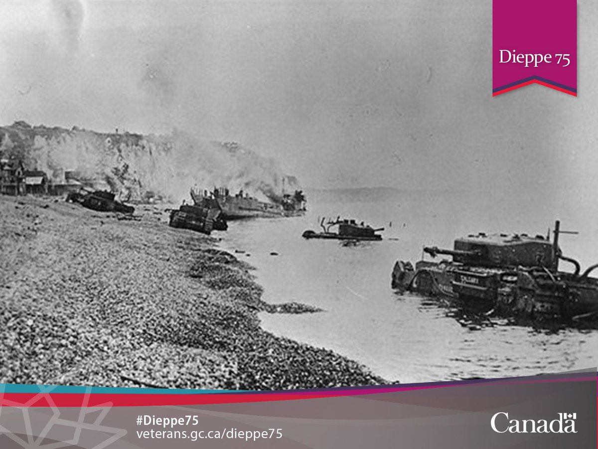 Canada remembers the 75th anniversary of the Dieppe Raid. How will you...