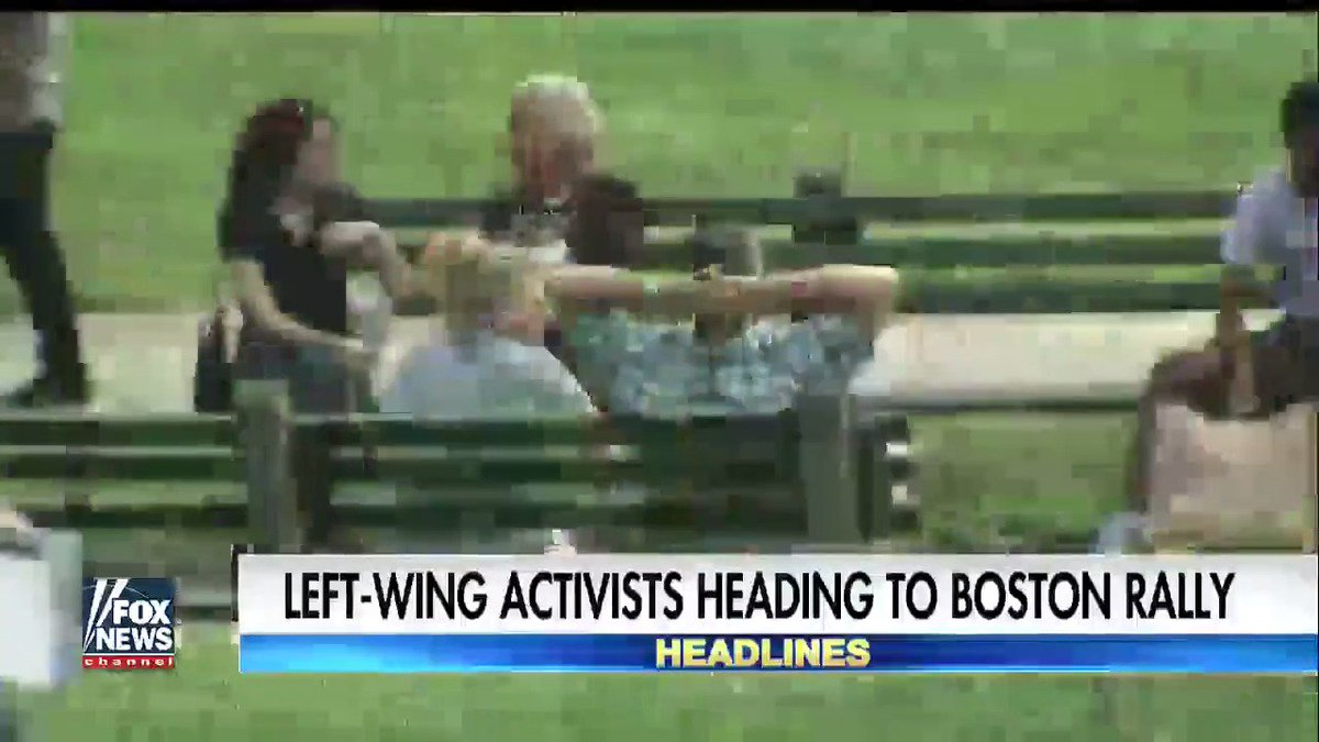 FoxNews says 'Left Wing Activists Headed To Boston Rally'  Really? Tha...
