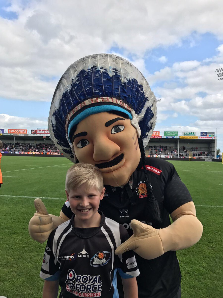 @BigChiefExeter supports @chiefsyouth #rugbyfamily @ExeterChiefs #COYC #jointhetribe <br>http://pic.twitter.com/IecgtVMAiD