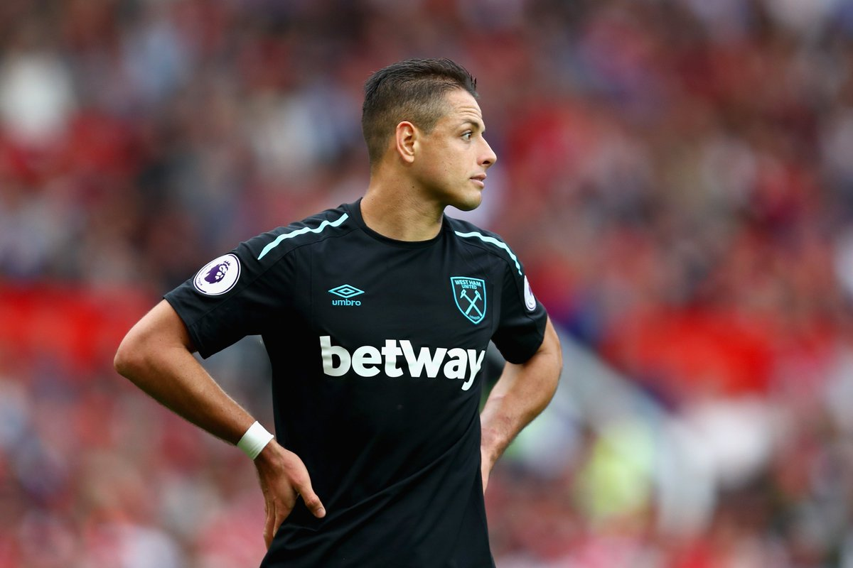 100% - All 38 of Javier Hernández's Premier League goals have come fro...