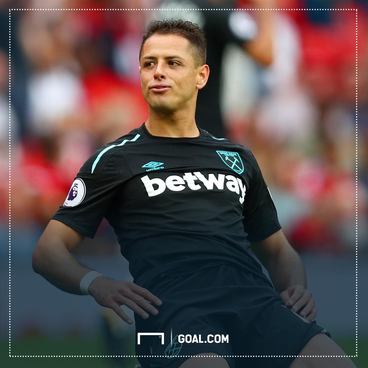 Javier Hernandez has his first West Ham goal! 👏 https://t.co/awMq69fuX...