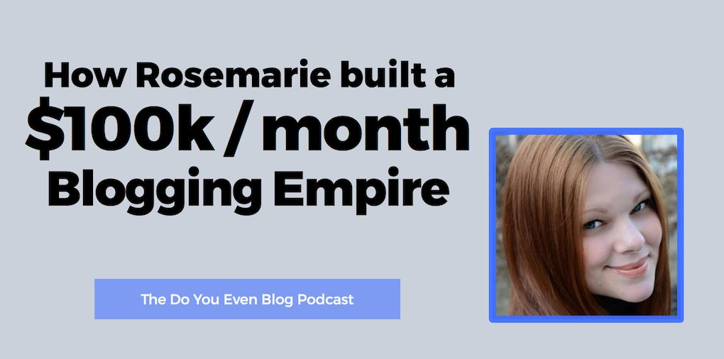 How Rosemarie built a $100k/month #blogging empire.  https:// buff.ly/2x4lXmw  &nbsp;    #blog #blogger #marketing #business<br>http://pic.twitter.com/WaSvRqQNCF