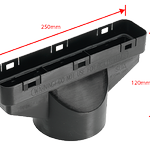 This converts the vent to a soil pipe fitting and/or mechanical extract terminal. Available in black only. #Roofi … https://t.co/VRb8IawqWK