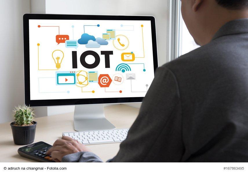 """Social Media Post: Werden Sie """"Partner"""" der #IoT und kommen Sie zur Digital Division..."""