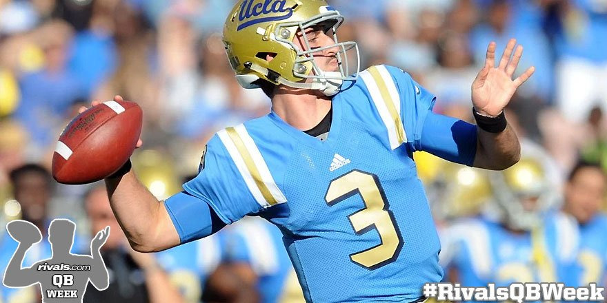 #RivalsQBWeek: You know who loves #UCLA QB Josh Rosen's attitude? @rivalsmike, that's who. https://t.co/7Aiwd1sYme