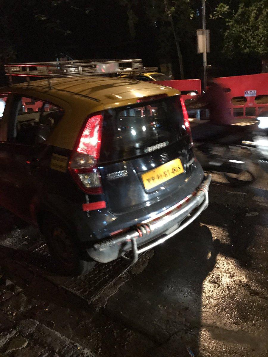 @CPMumbaiPolice @MumbaiPolice @RidlrMUM @smart_mumbaikar @MumTraffic this #taxi #refused to take me and almost ran over my #child #mazgaon<br>http://pic.twitter.com/IM8EDgJNRY