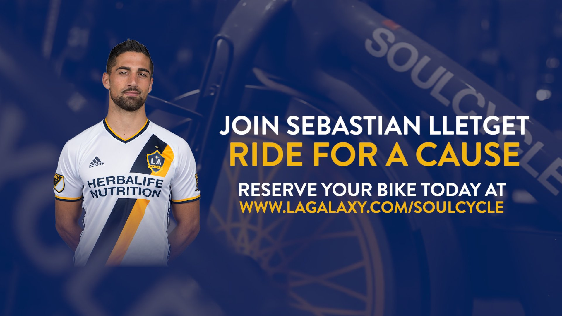 🚴♀️ Ride for a cause with @SLletget and the #LAGalaxy Foundation on Friday: https://t.co/TOWBTh20XD https://t.co/uKlDj3M7o1