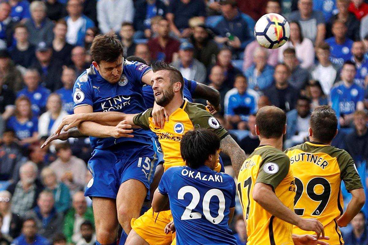 📸 Harry Maguire has one goal and one assist in two matches for Leicest...