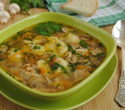 Гречневый суп рецепт фото