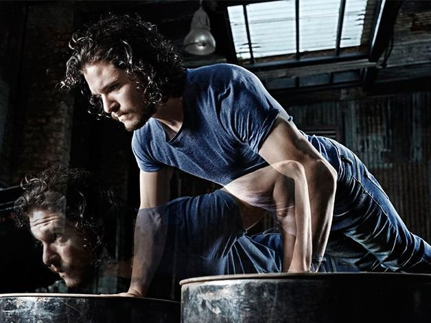 Train like a bastard with Jon Snow's #GameofThrones workout https://t....