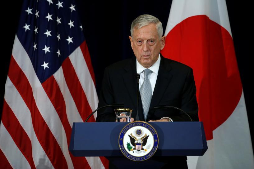 Pentagon's Mattis again seeks to reassure U.S. allies https://t.co/vgYHrYsE6b