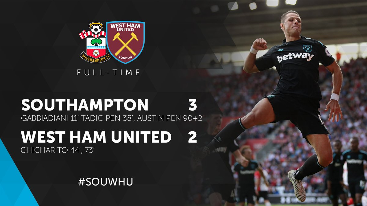 Absolute heartbreak. The lads gave everything.  #SOUWHU https://t.co/3...