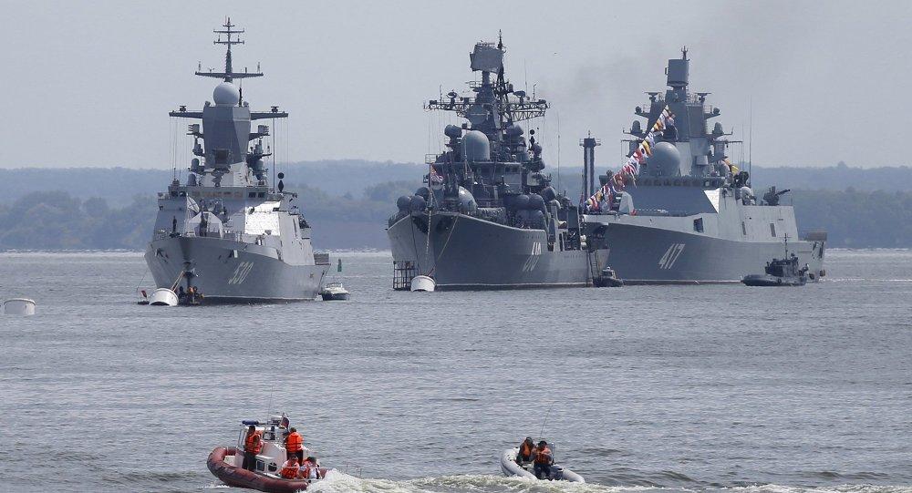 Marinha russa do Báltico mostra sua força em exercícios em Kaliningrado (VÍDEO) https://t.co/ZEQ39bS6c2