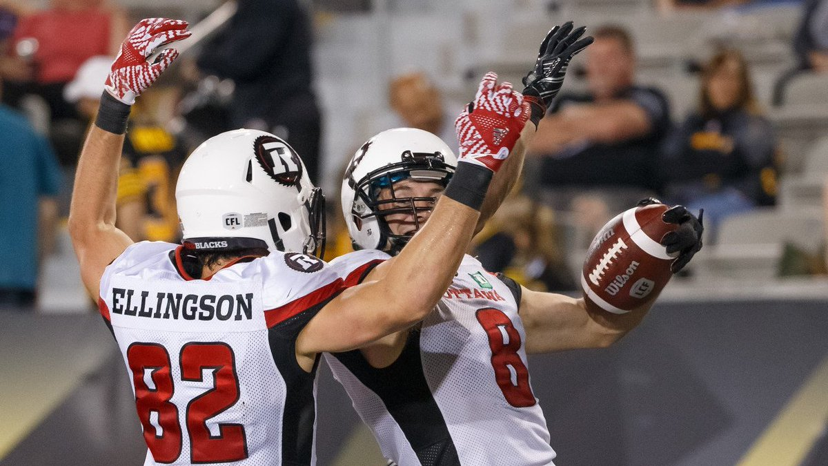 Six three-pointers. Two @CFL firsts. One night to remember.  HIGHLIGHT...