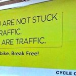 Always worth remembering when we are complaining about being stuck in traffic...