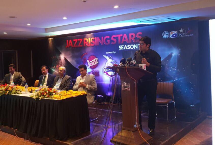 Delivering on our promise to provide a great #cricket platform to the aspiring youth of #Pakistan! #JazzRisingStars #Season2 #JazzCricket<br>http://pic.twitter.com/LgOSjceyFF