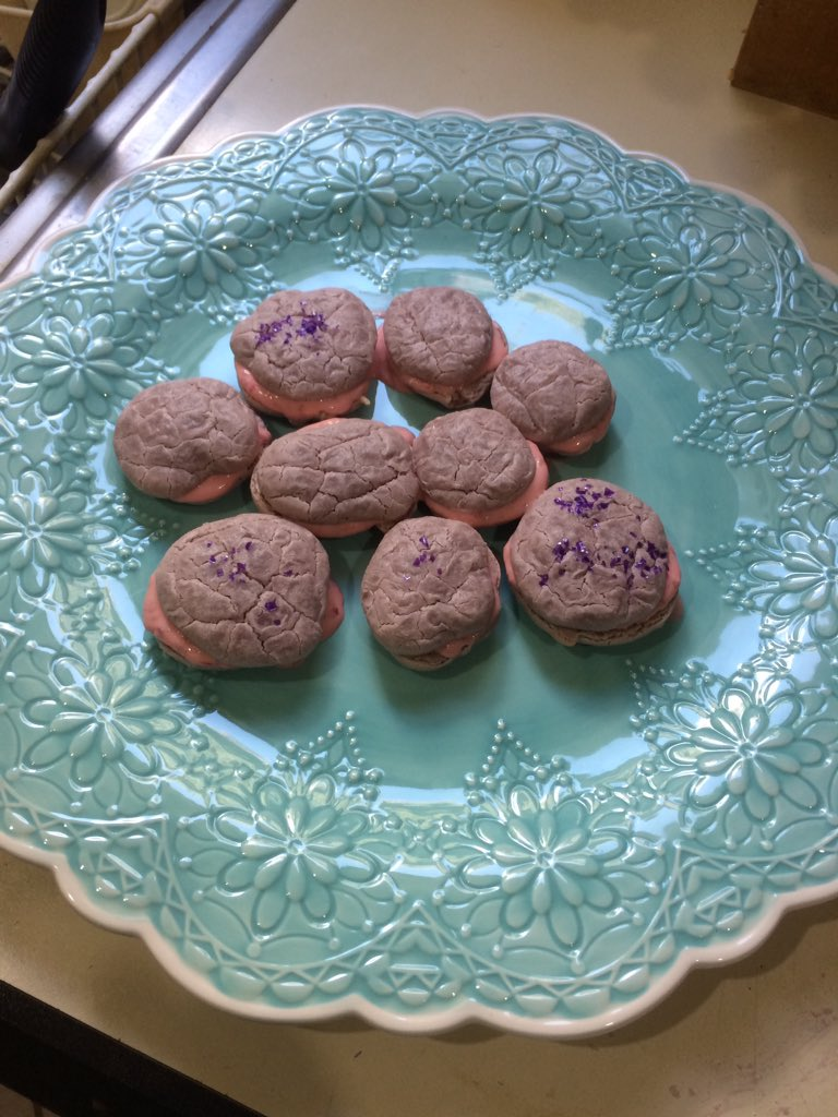 They may not be as pretty as professional macarons but they taste ok,...