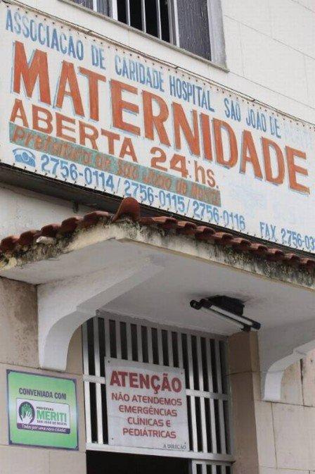 Hospital de São João de Meriti será inspecionado após morte de mãe https://t.co/Jlr65BHUse