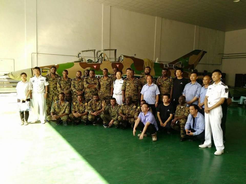 السودان يشترى 6 مقاتلات FTC 2000 DHn43FeW0AAZrEQ