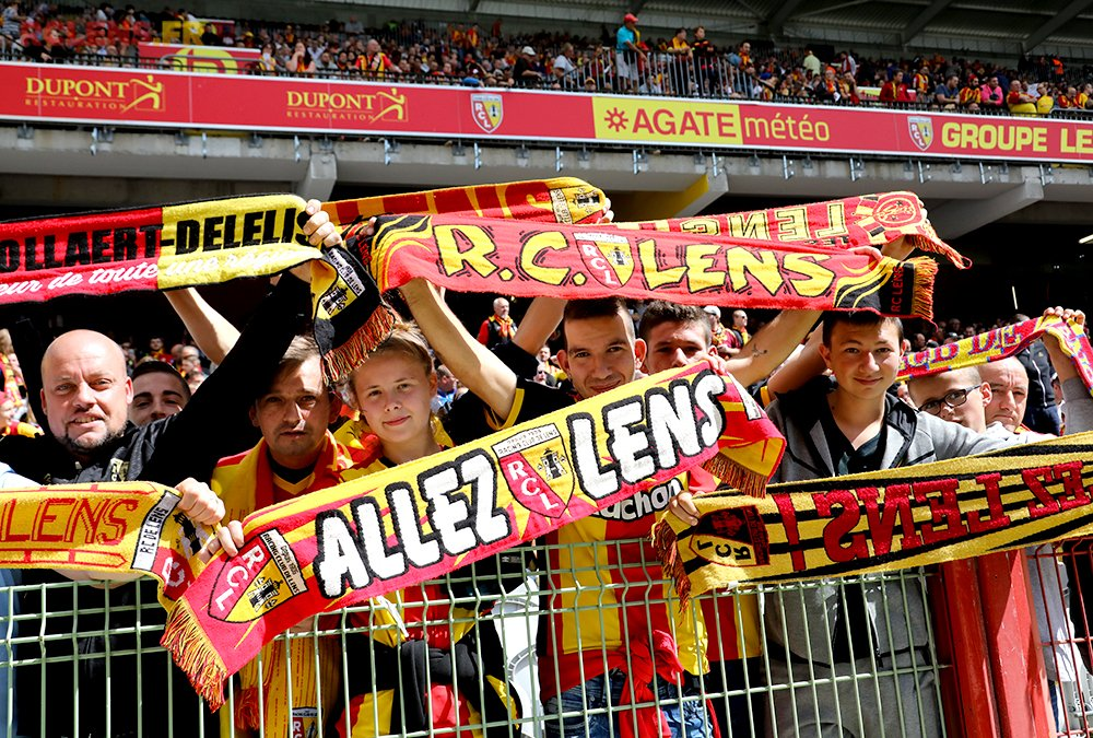 RC Lens vs Stade Brestois 29 Ligue 2 2017/2018