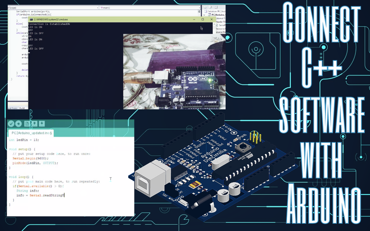 Connect And Use Arduino Via C++ Software Made In Any IDE &gt;&gt;  https:// youtu.be/8BWjyZxGr5o  &nbsp;   #Article #video #tutorial #arduino #DIY #Pakistan #blog <br>http://pic.twitter.com/CMpfwF3xNi