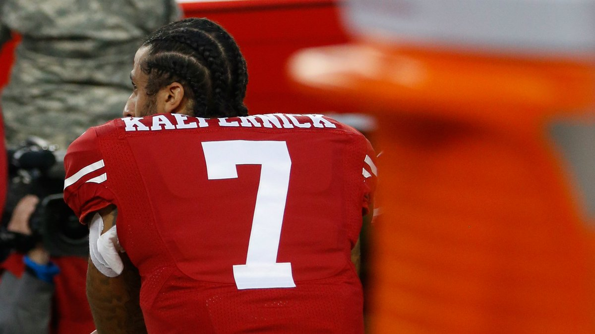 15e716d8c57 Colin kaepernick items will be featured in a black lives matter exhibit at  the smithsonian museum. - scoopnest.com