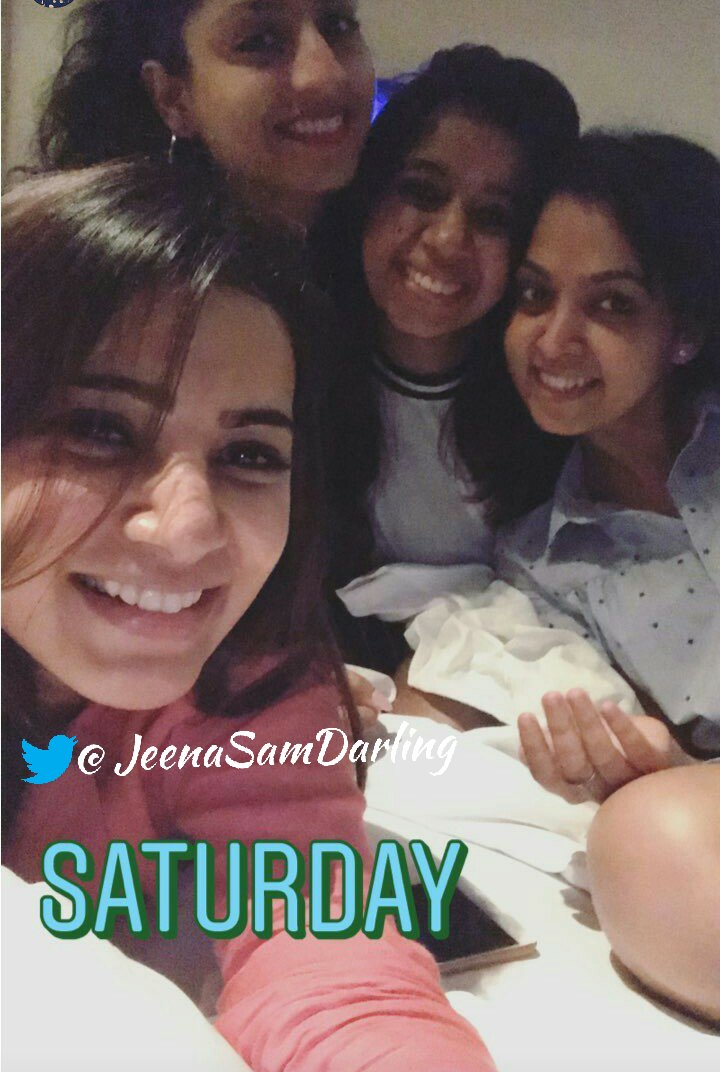 Our gorgeous papa @Samanthaprabhu2 #Instastories   slfe time #Saturday #sunday her smile<br>http://pic.twitter.com/oqVpnweEIT