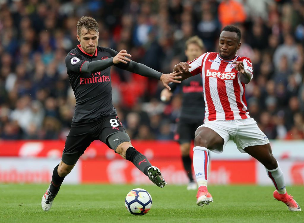 'Gutted' Arsenal star reacts to defeat against Stoke City on Twitter