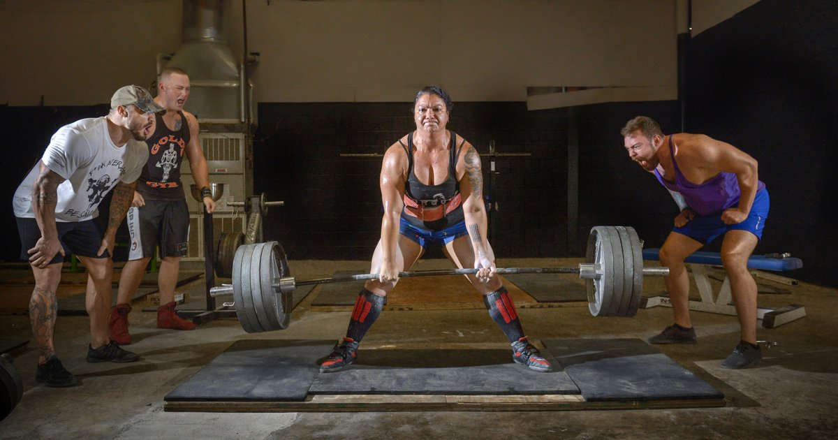 Powerlifting is helping her beat her addiction: 'I had to dig the fire and passion out.' https://t.co/w6D6Dqnfp2