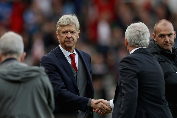 We are two games into the #pl season and #Wengerout is trending in the UK.  It&#39;s not been a good day for Arsenal.   http:// bbc.in/2v1q7Lr  &nbsp;  <br>http://pic.twitter.com/hxr3V3nqqE