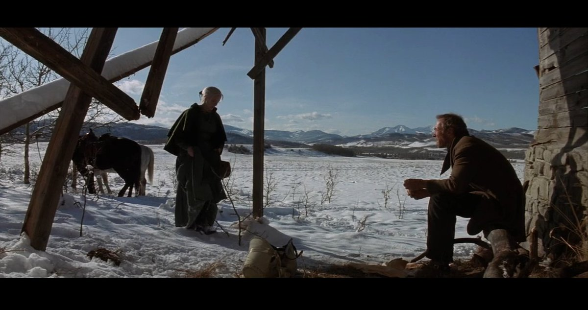 I miss movies being shot on film :) #Unforgiven <br>http://pic.twitter.com/sJysgTdXzP