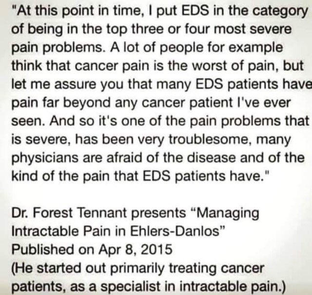 when people and/or doctors tell you that EDS isn&#39;t painful #chronicillness #spoonie #eds <br>http://pic.twitter.com/qdww1XuavE