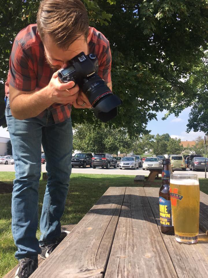 Without this guy right here, we wouldn't be able to bring you so many awesome beer shots. Raise your beer to Sean today! #PhotographyDay