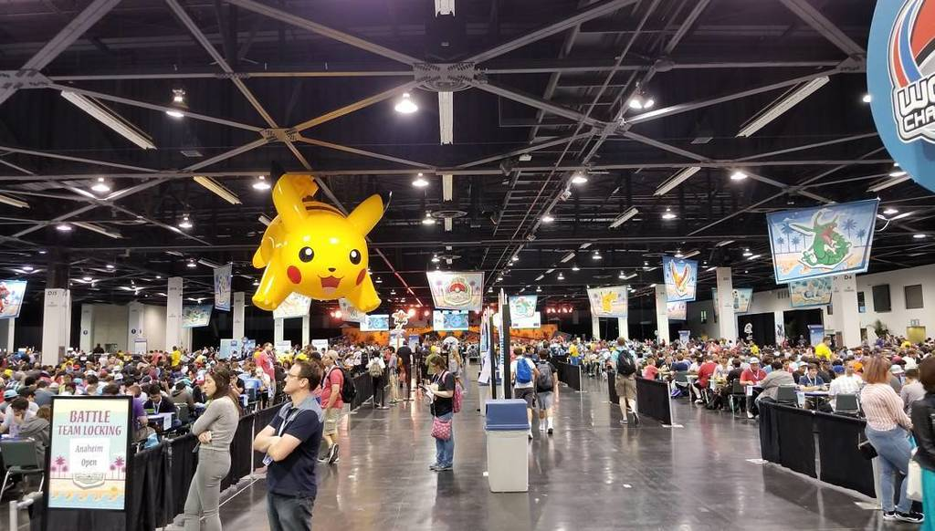 Time to enjoy some Pokemon at the World Championships in Anaheim! #pokemon #tcg #vgc #pokken #pikachu #bestofbest #tw<br>http://pic.twitter.com/3jKmUHsqsA