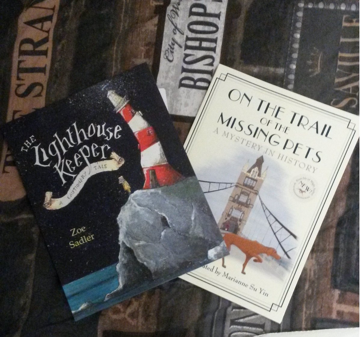 Look what I #hauled from #Waterstones today! Two gorgeous #picture #books by #local #authors @mariannesuyin @zoesadler_ink<br>http://pic.twitter.com/ewcBDPOGGB