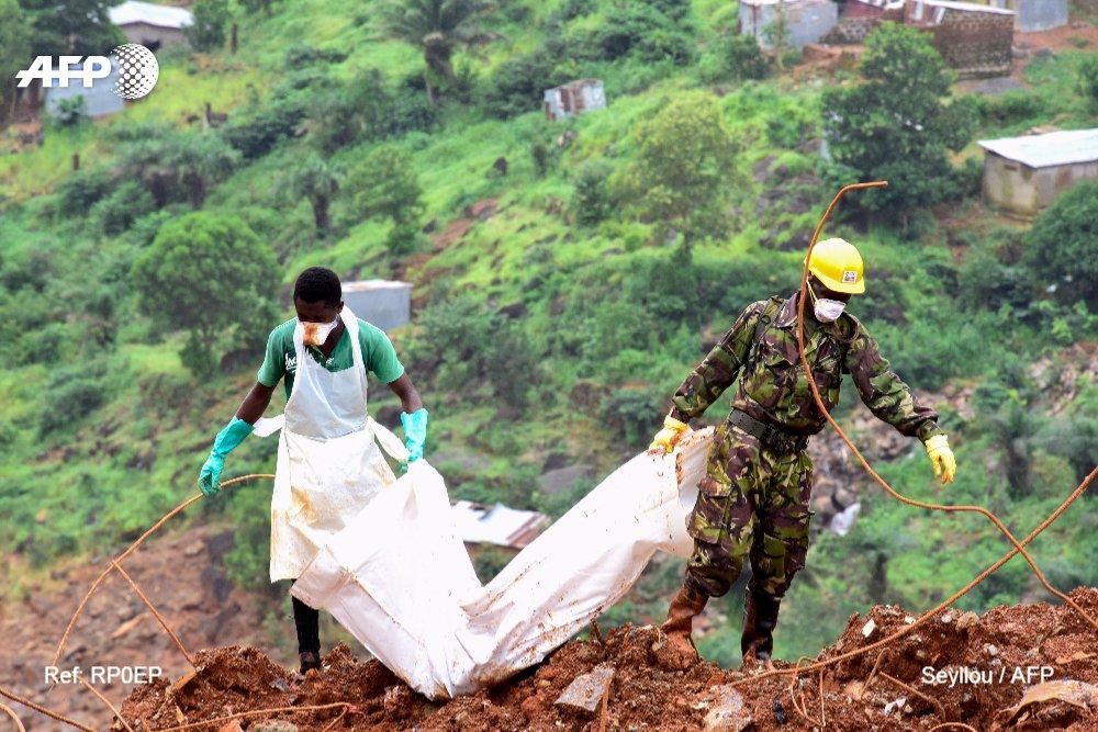 Inondations en Sierra Leone: 441 morts, la recherche des corps se poursuit https://t.co/GknhfSZOqA #AFP